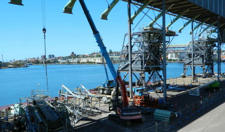 GrainCorp Shiploader image Major Projects Group