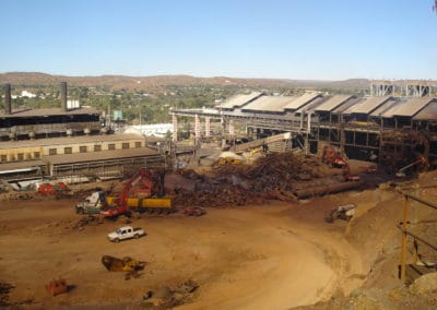XSTRATA MOUNT ISA FSR PLANT demolition Major Projects Group